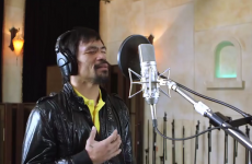 This will be Pacquiao's ringwalk music against Mayweather. It's certainly different…