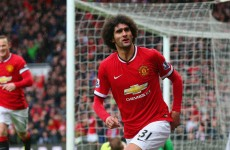 'Toure didn't want to mark Fellaini' – Young taunts Manchester City star