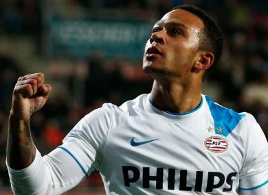 In-demand: PSV's Memphis Depay.