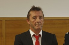 AC/DC drummer Phil Rudd pleads guilty to threat to kill