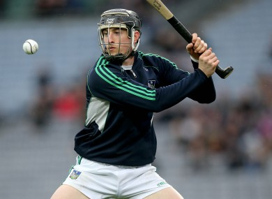 Goalkeeper Nickie Quaid is a doubt for Limerick's Munster SHC opener