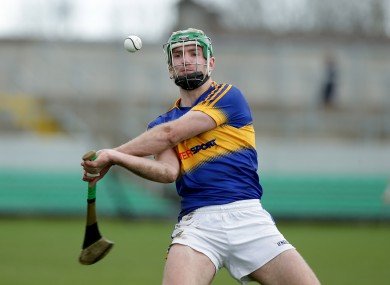 Noel McGrath during Tipperary's league quarter-final win over Offaly last month.