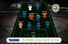 Chelsea dominate the Premier League Team of the Year