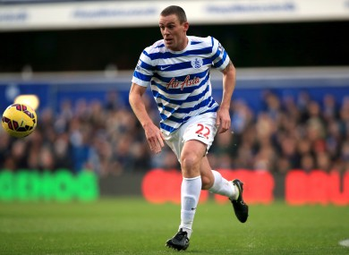 Dunne featured for the QPR U21s.