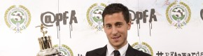 It was a good night Eden Hazard and Harry Kane at the PFA awards