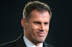 Jamie Carragher took a very unsubtle pop at Raheem Sterling after Liverpool's loss today