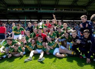 Kerry won last year's Electric Ireland Munster minor football championship crown
