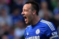 John Terry has equalled a Man United legend's Premier League record