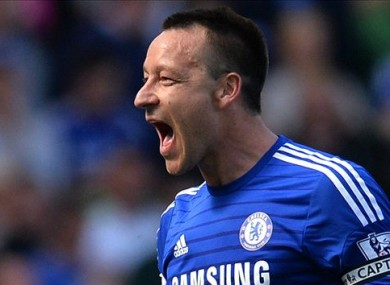 John Terry has been an ever present in Chelsea's side this season.