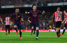 Leo Messi's cup final goal was from another galaxy, shrugs Luis Enrique