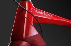 Audi's new carbon fibre bike weighs about the same as a box of Rice Krispies