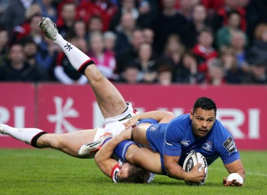Te'o has been in prolific try-scoring form for Leinster in recent weeks.