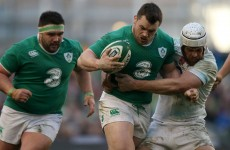 Ireland's Cian Healy in World Cup doubt after neck disc surgery