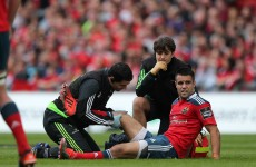 Major blow for Munster with O'Mahony and Murray ruled out of Pro12 final
