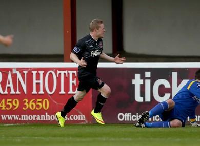 Dundalk winger Daryl Horgan.