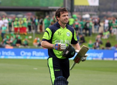 Joyce represented Ireland at both the 2012 and 2014 Twenty20 World Cups in Sri Lanka and Bangladesh.