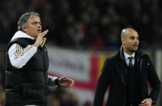 Mourinho appears to take dig at old nemesis Guardiola