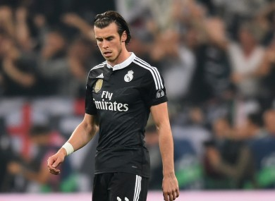 Bale was poor as Real Madrid were beaten in the first leg.