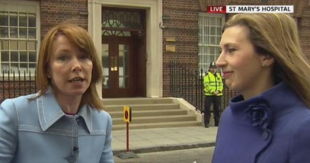 Kay Burley spent the morning reporting on, essentially – nothing. People were mesmerised