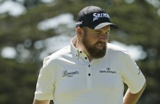 Shane Lowry was mugged by some sensational putting by Rickie Fowler last night