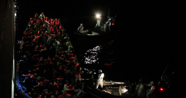 Pictures: 500 migrants rescued – as LÉ Eithne carries out THREE operations in 24 hours