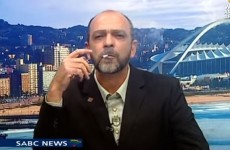 This drugs campaigner sparked up a joint live on the news
