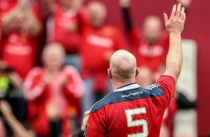 'That is probably the last time that I play for Munster here' – Paul O'Connell