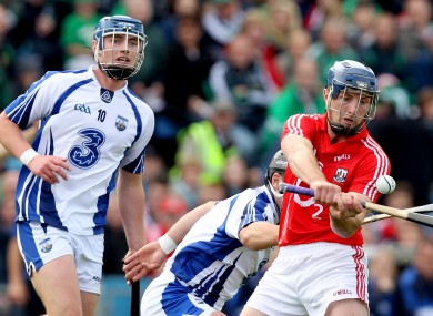 Cork's Patrick Horgan and Waterford's Pauric Mahony (file photo)
