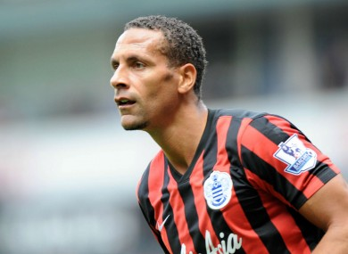 QPR defender Rio Ferdinand has thanked the public for the support he has received following his wife's death.