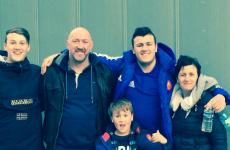 Trevor Brennan's son has won a place in France's prestigious academy
