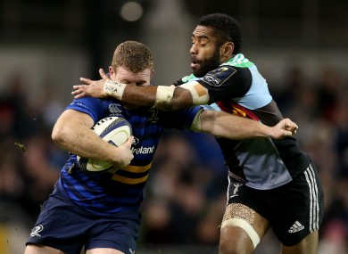 Tikoirotuma played against Leinster this season in Europe.