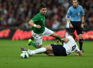 Shane Long scored when Ireland and England last met in a 2013 friendly at Wembley.