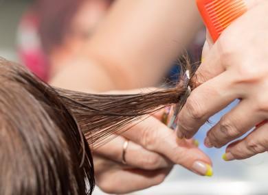 Barber Shaving Soft Armpits Hair Of A Girl Using Straight