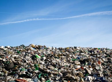 File photo of a landfill.