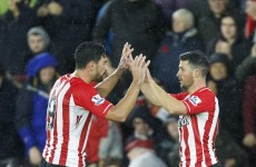 Shane Long wins Southampton's goal of the season award after scoring this beauty