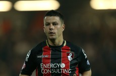 Ian Harte and his sweet left peg won't be back in the Premier League with Bournemouth