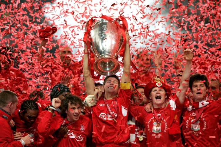 Image result for Liverpool Champions League 2005