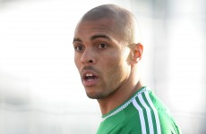 Northern Ireland striker banned for headbutting his own team-mate