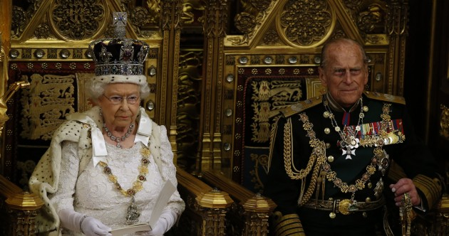 So, Britain still announces major policy plans like this… Here's what the Queen had to say