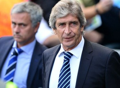Manuel Pellegrini claims he doesn't have any problem with Jose Mourinho.