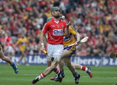 Brian Murphy in action for Cork in the 2013 All-Ireland final replay.
