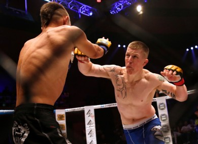 UFC fighter Paul Redmond competed for Battlezone in 2012.