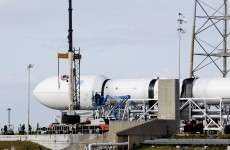 A space rocket has exploded on a routine cargo mission