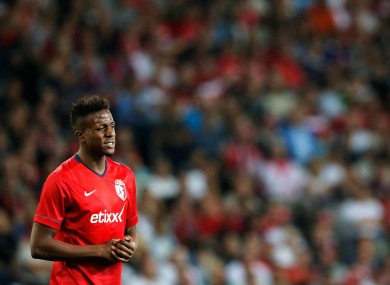 Origi scored eight Ligue 1 goals for Lille in their 2013-14 campaign.