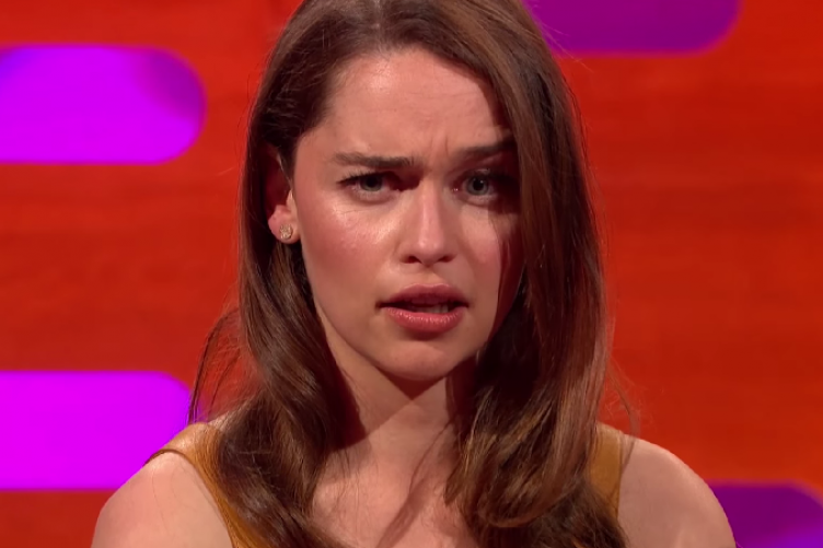 Cara Delevingne And Emilia Clarke Had An Intense Eyebrow Off On