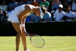 Bra strap lands Eugenie Bouchard with dress code violation … and she's then beaten at Wimbledon