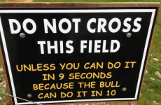 A sign in Kerry perfectly sums up the perils of living in the country