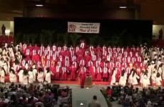 Watch: This incredible performance by graduates is going viral for a good reason
