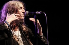 Rotten weather has forced Patti Smith's Dublin gig indoors