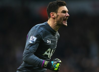 Lloris made 44 appearances in all competitions in 2014-15.